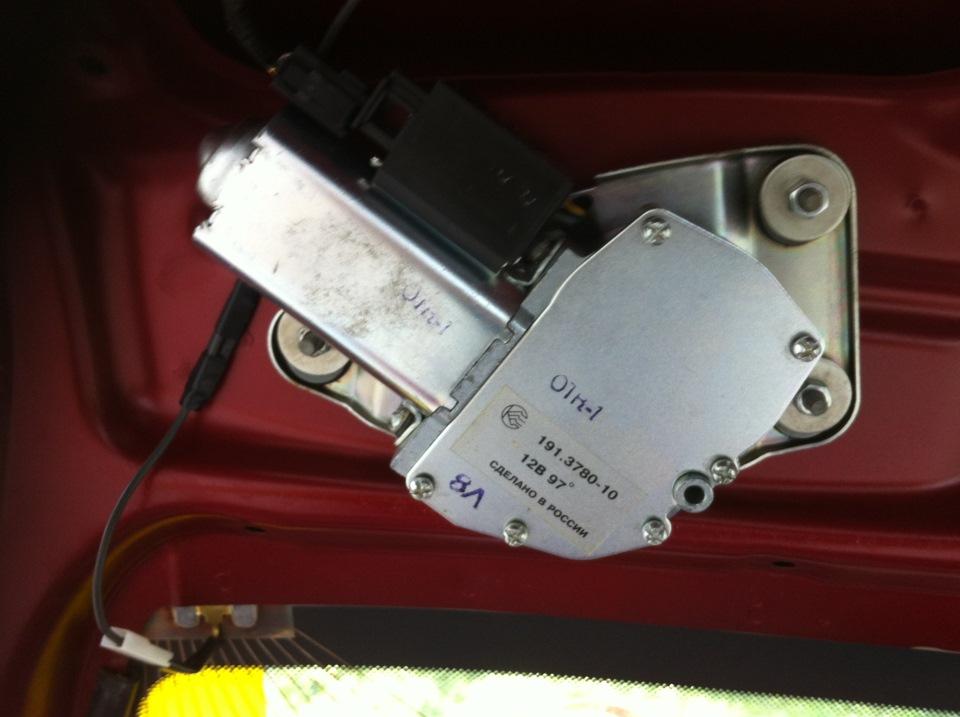 Мотор редуктор заднего стеклоочистителя