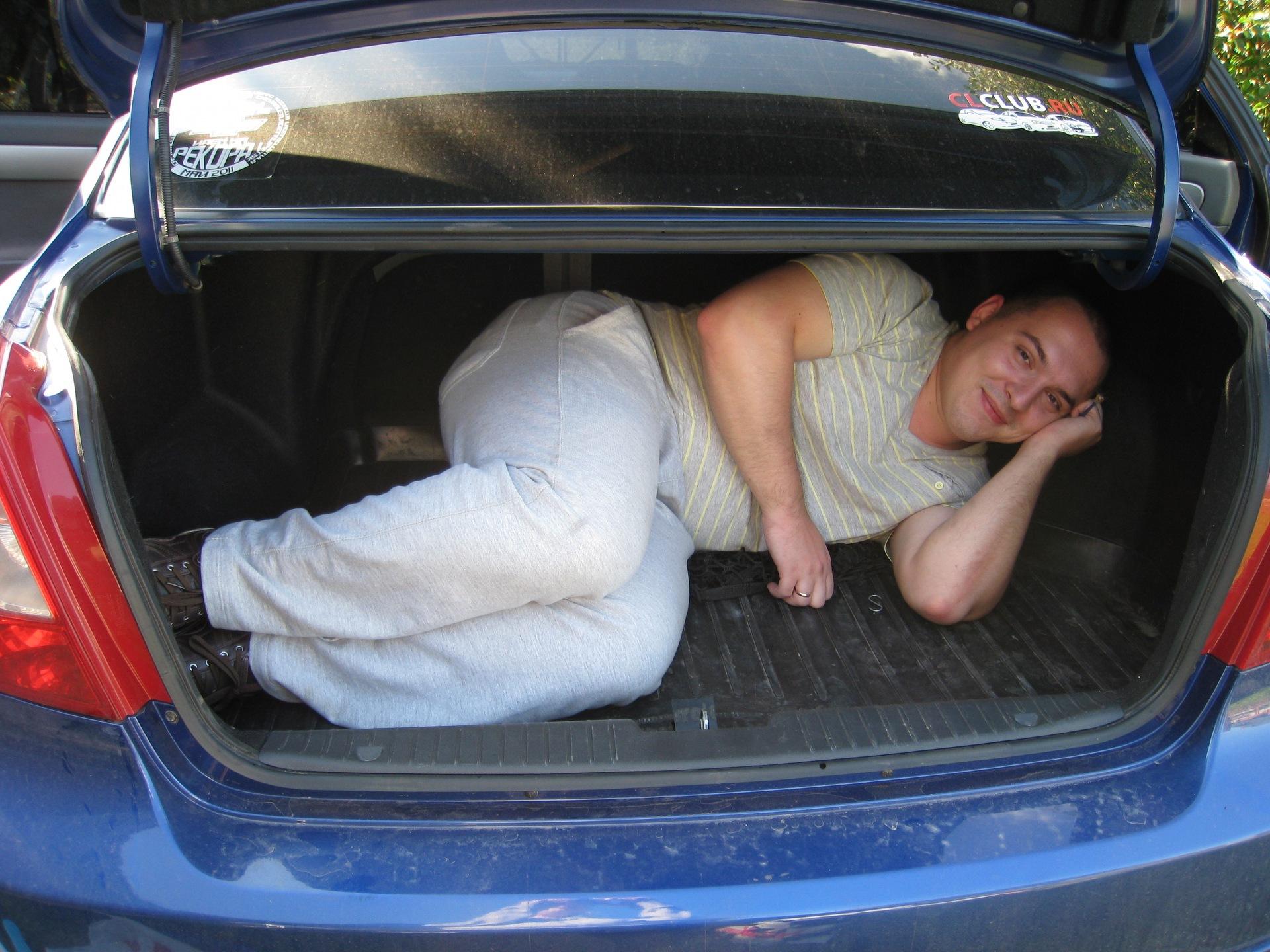 Шевроле лачетти фото багажника