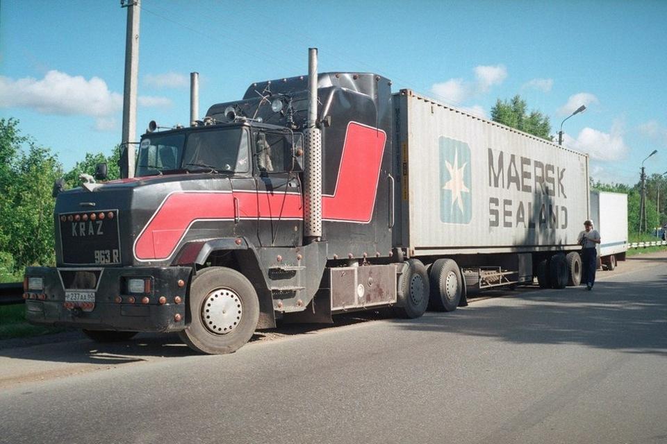 Самодельные грузовики фото.
