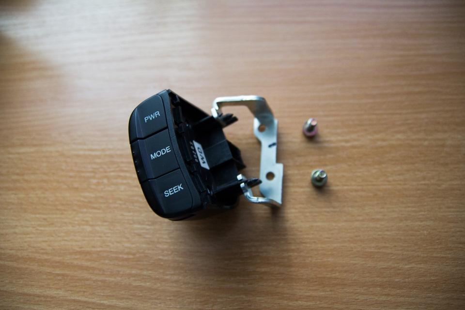 управление магнитолой на руле в chevrolet lacetti