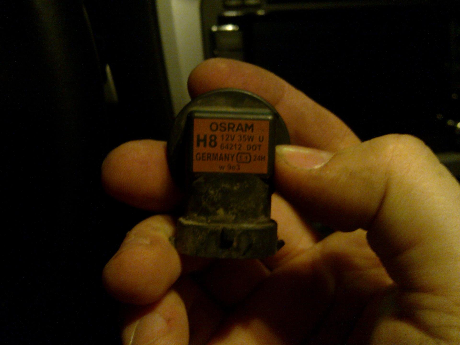 Тип лампы на шкода октавия а7 7 фотография