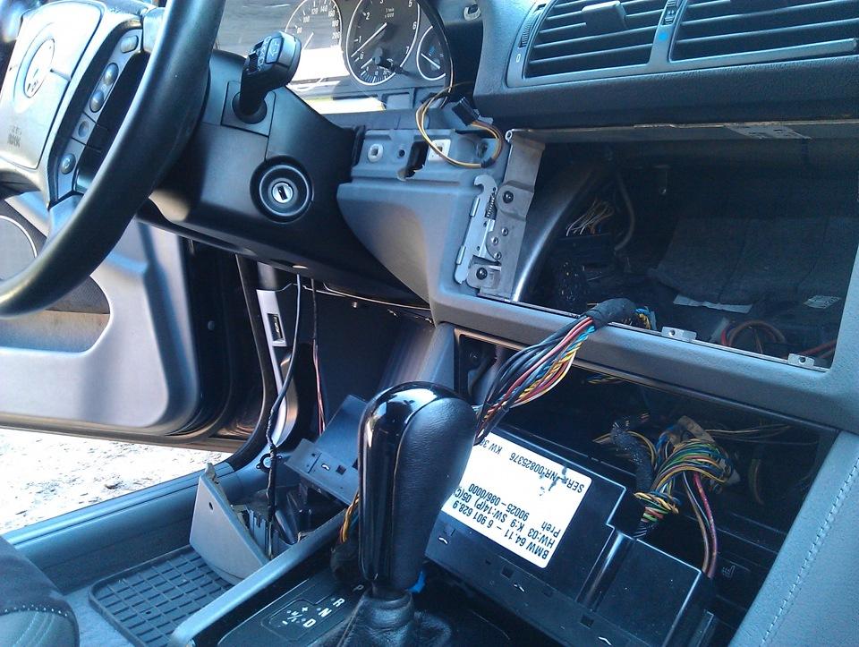 bmw 525 мотор отопителя замена