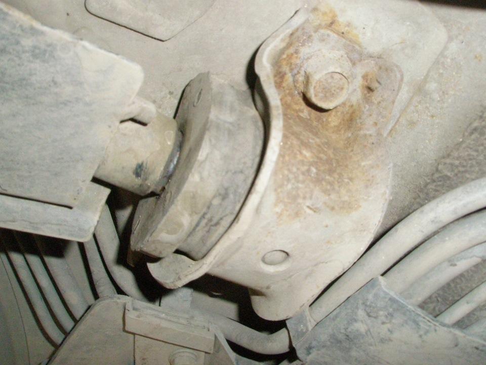 Замена сайлентблока переднего рычага дэу нексия