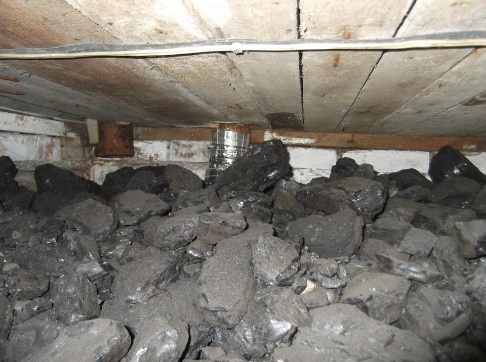 Как сделать углярку чтобы не кидать уголь 2