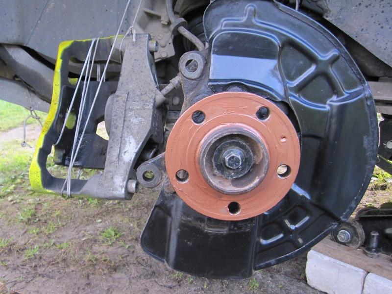 Замена тормозных дисков, колодок, жидкости. - бортжурнал Volvo XC90 D5-Уникальный Бурундук 2003 года на DRIVE2