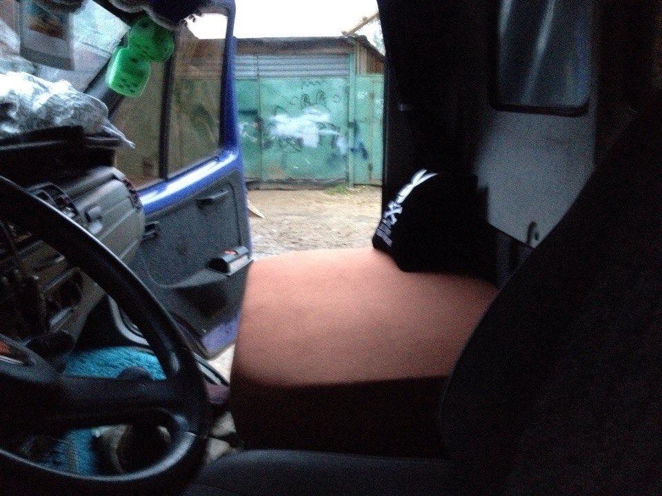вариант спального места в кабину 3 х местки бортжурнал газ газель