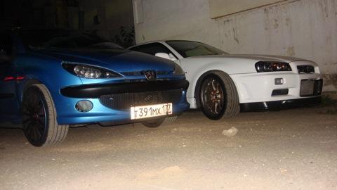 Peugeot 206 Голубастик