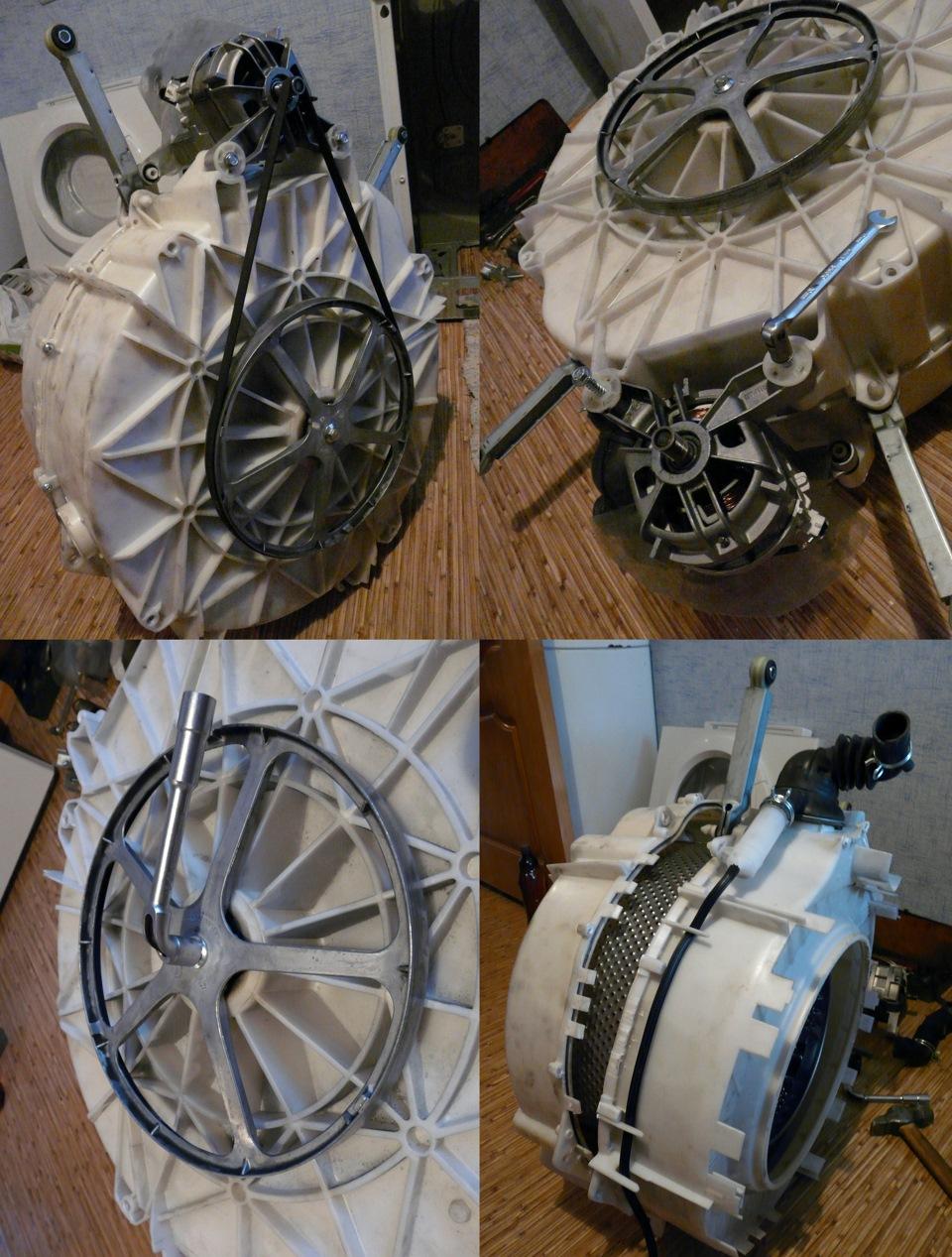 Разбор схемы стиральной машины