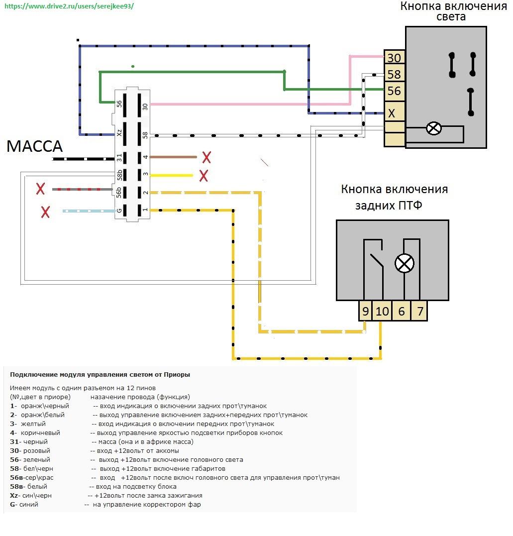 Схему подключения квартирного счётчика