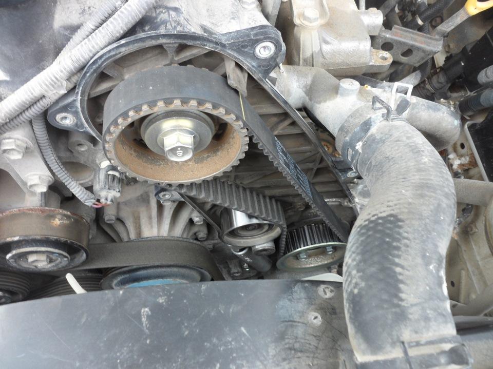 toyota двигатель d4d замена грм