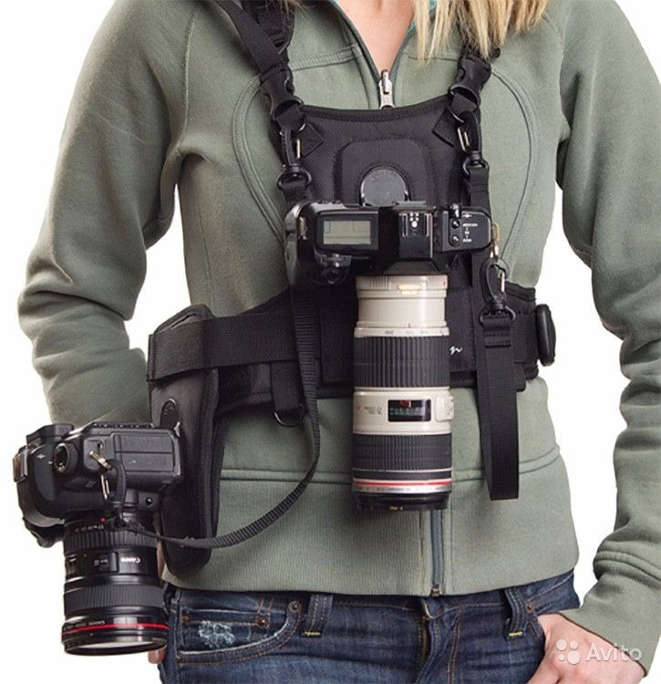 как крепится разгрузка к фотоаппарату самое