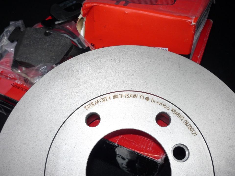 тормозные диски brembo на BMW e36