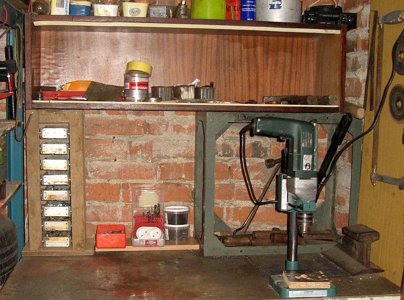 самоделки в гараж фото качестве обуви