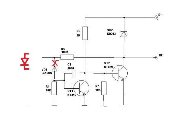 Фото №13 - реле регулятор напряжения генератора ВАЗ 2110 с переключателем