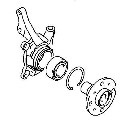 Замена подшипника передней ступицы лансер 10