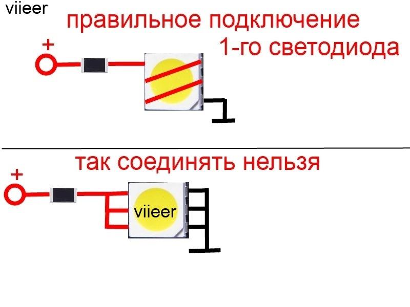что для белого светодиода