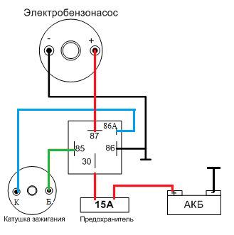 e9ea0c5s 960 - Схема подключения электробензонасоса низкого давления