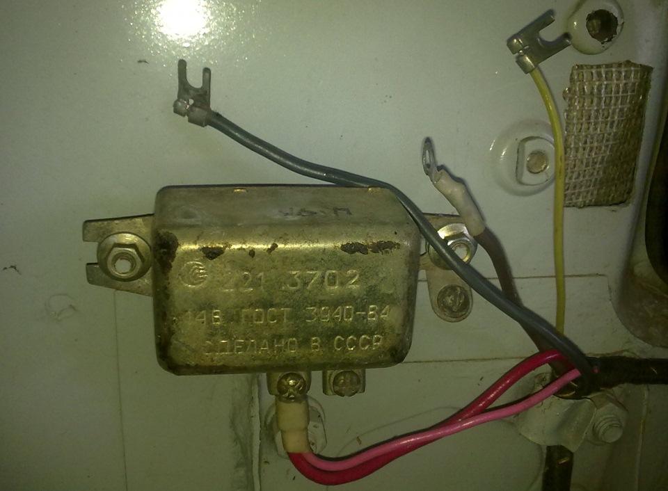 Электросхема газ-21 с