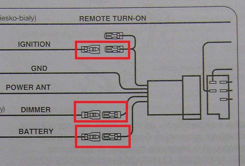 Схема подключения автомагнитолы alpine