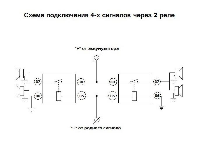 подключены по этой схеме