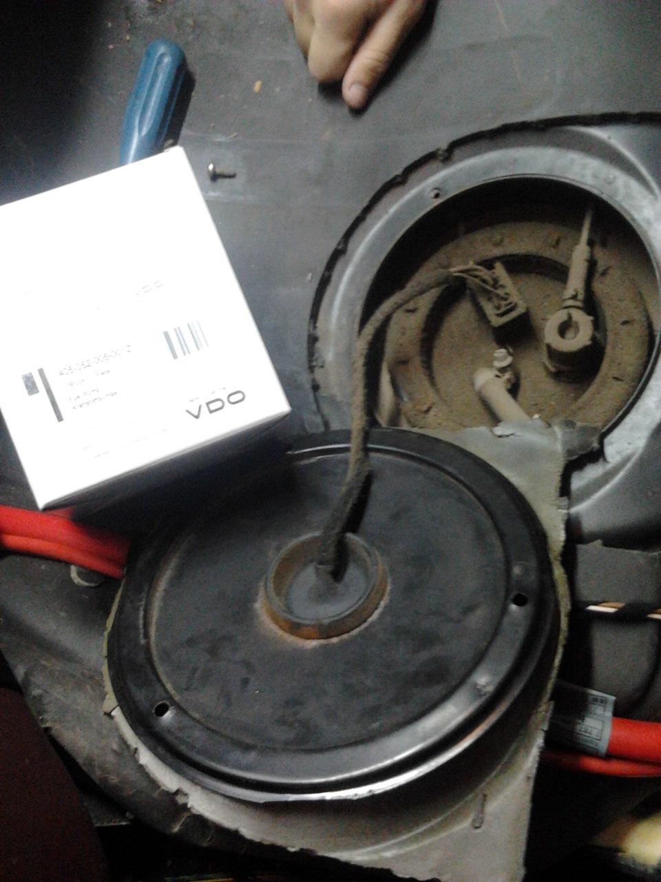 bmw 2.5 tds топливный насос в баке неисправен