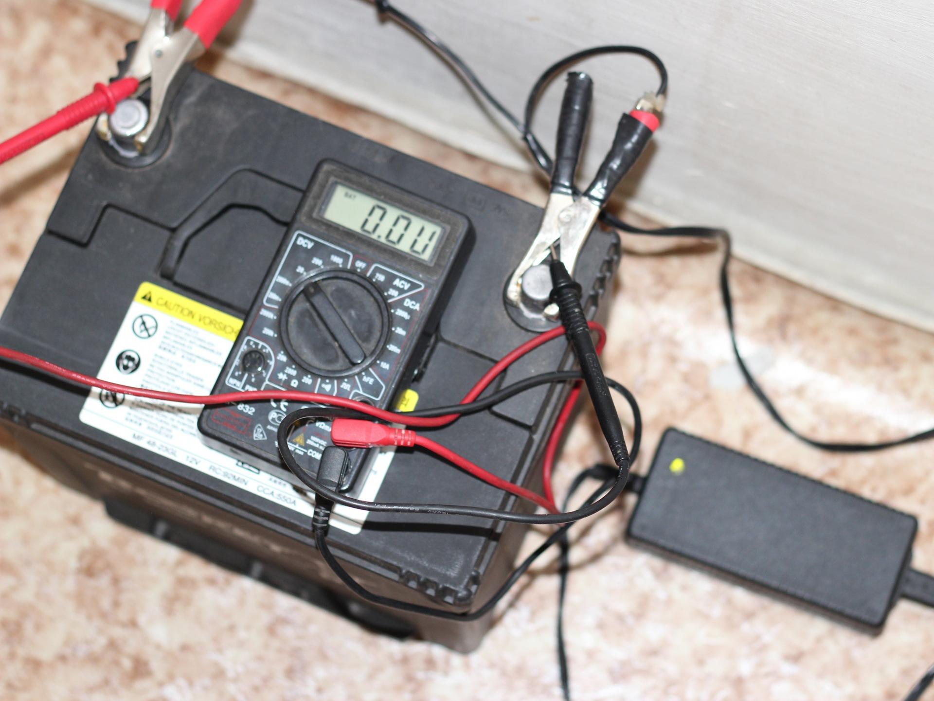 Заряжать аккумулятор домашних условиях 588