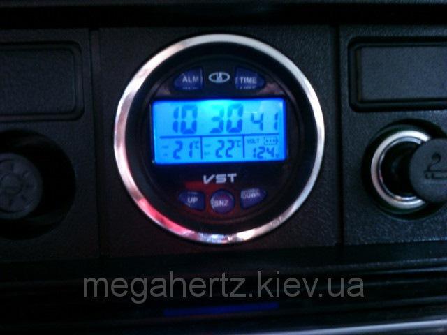 Vst автомобильные часы инструкция