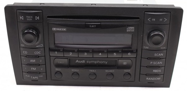 audi symphony 2 диапазон частот