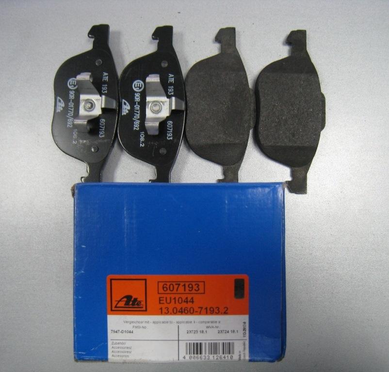 Тормозные колодки на форд фокус 3 производитель