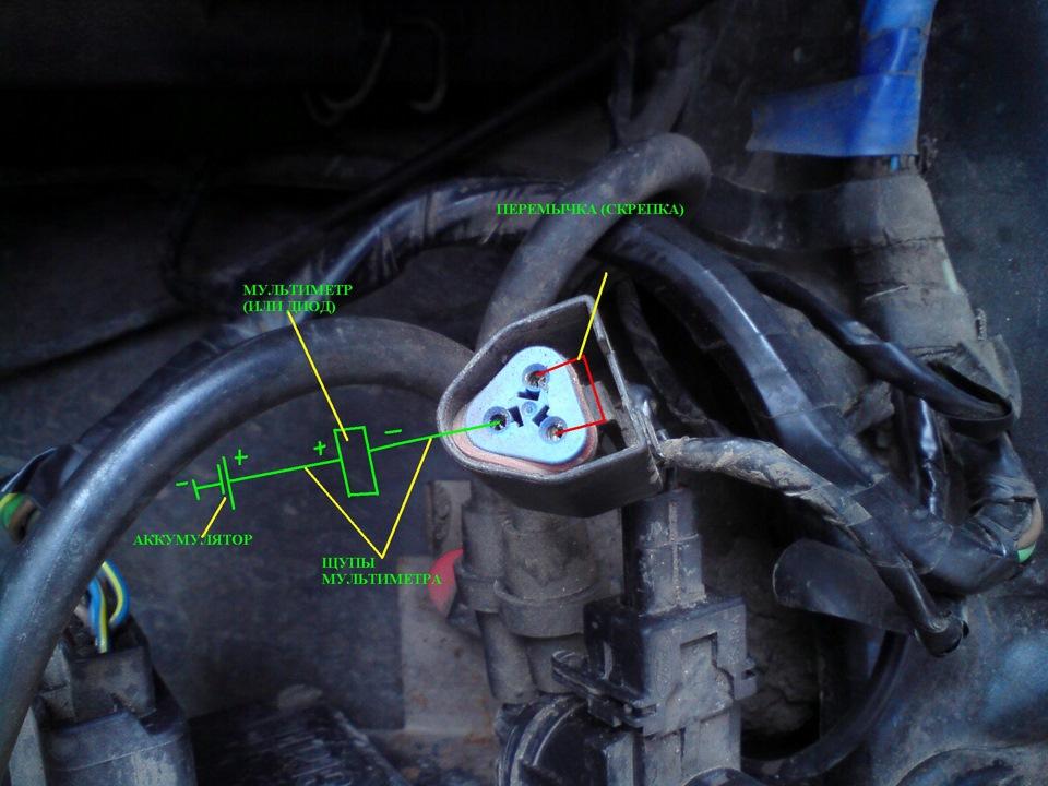 Где находится диагностический разъем форд эскорт