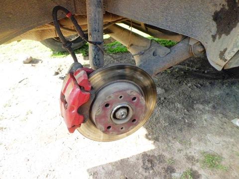 Как на ваз 2109 сделать задние дисковые тормоза