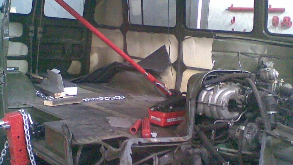 Двигатель для уаз 2206