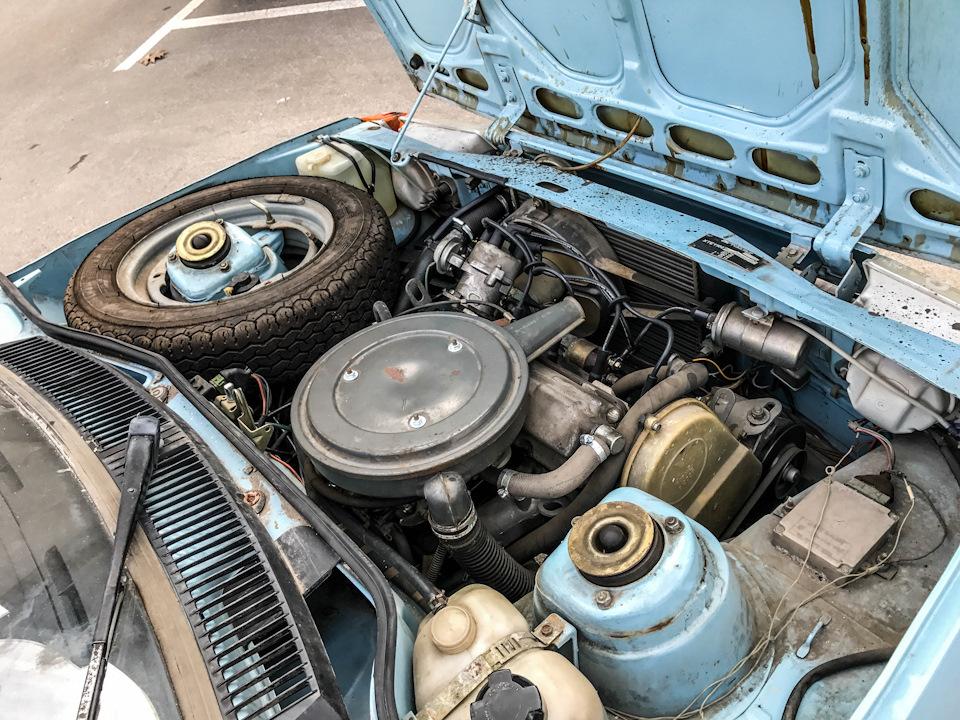 МеМЗ-245 водяного охлаждения: 1,1-литровый 4-цилиндровый двигатель выдавал 51 л.с.