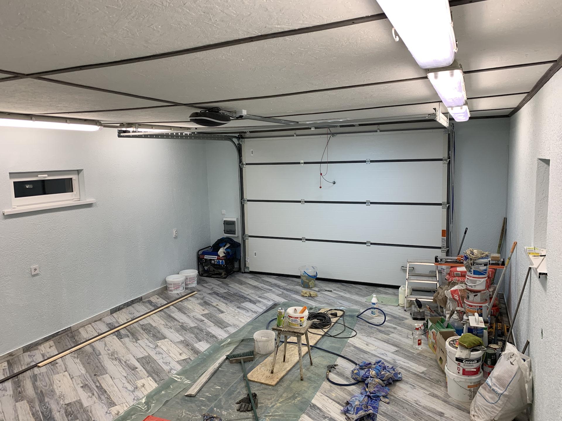 это выпечка прикольный ремонт гаража фото люстрами, точечными светильниками