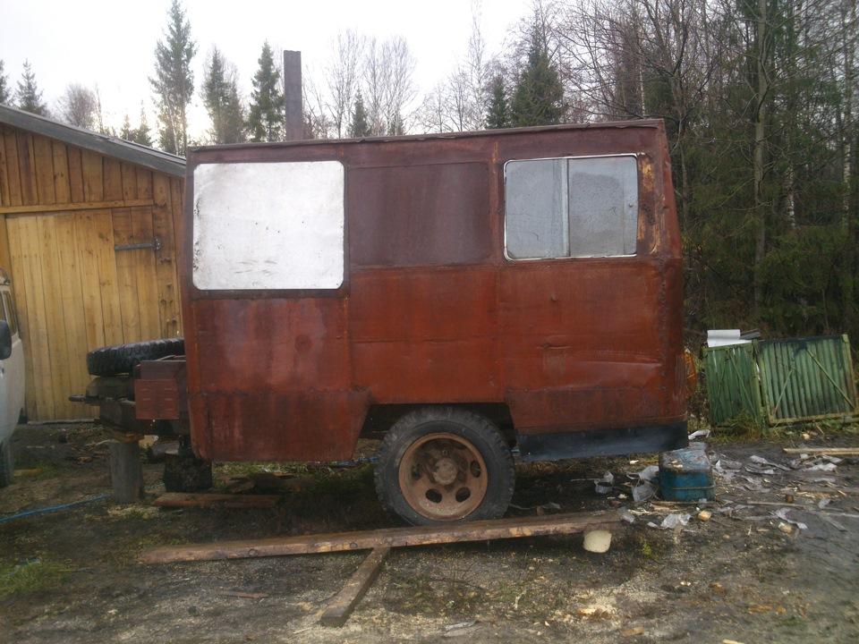 баня на колесах