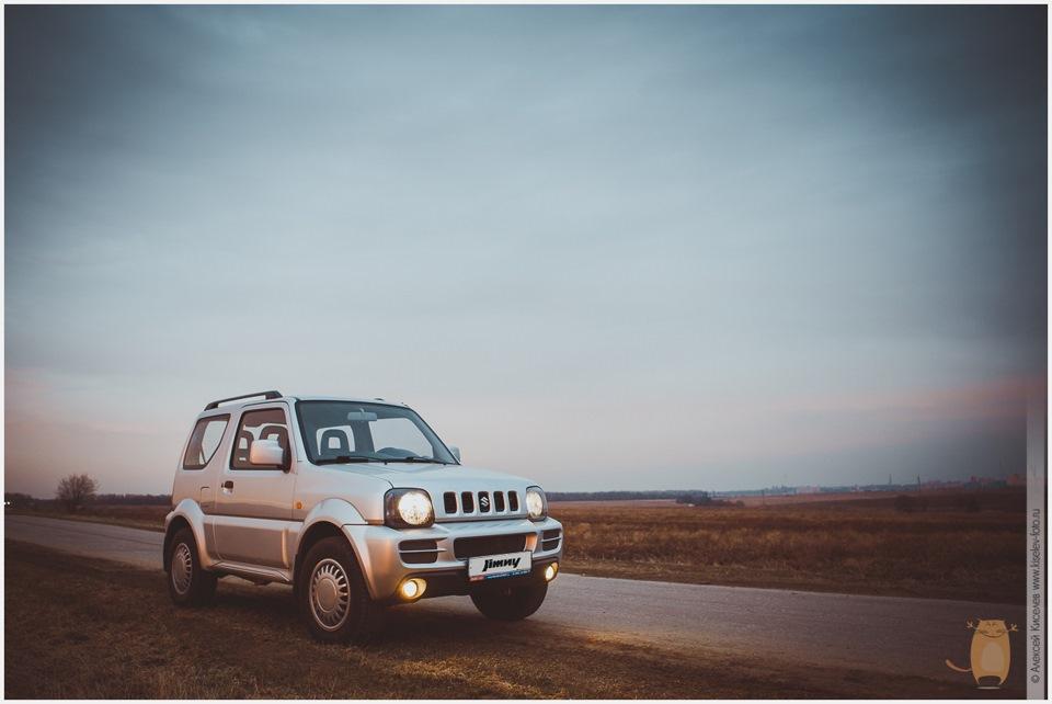 """Suzuki Jimny """"Пыль дорог"""""""