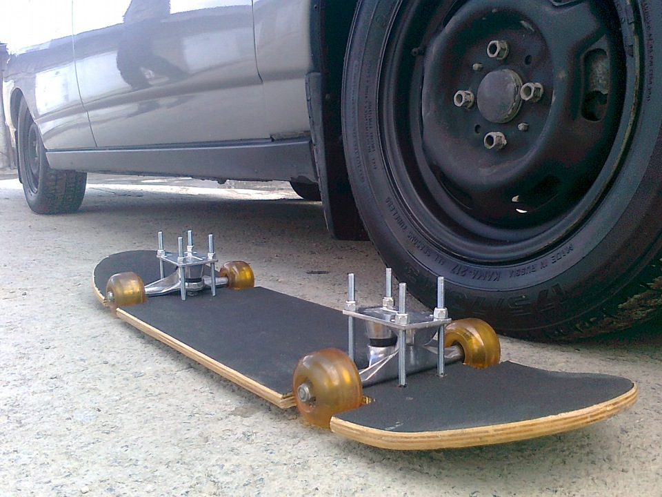 Как самому сделать скейтборд 944