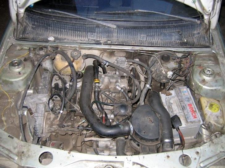 мотор xud-9sd peugeot 405