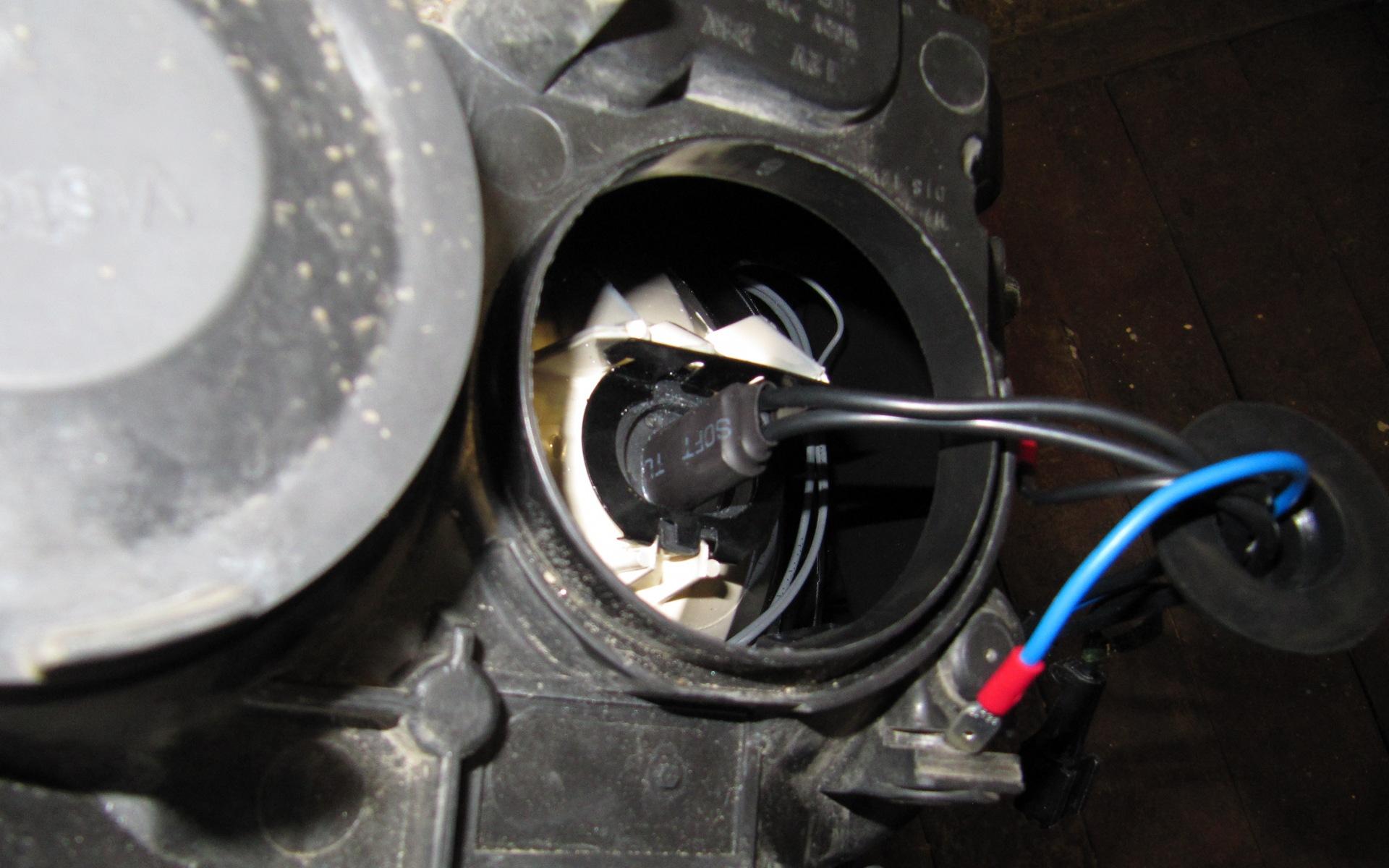 Установка ксенона на форд фокус 3