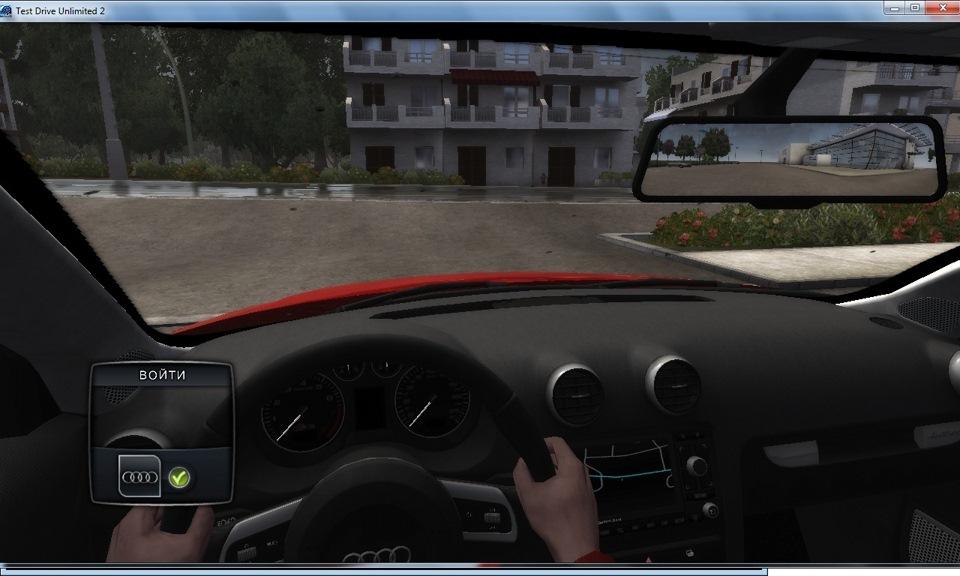 Test drive 2 как сделать игру во весь экран