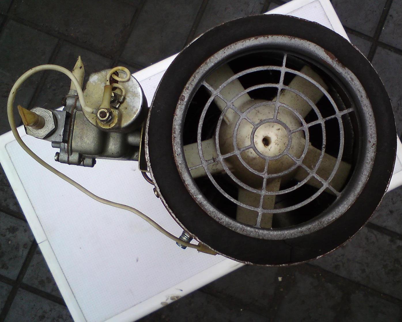 схема подключения отопителя ов-65