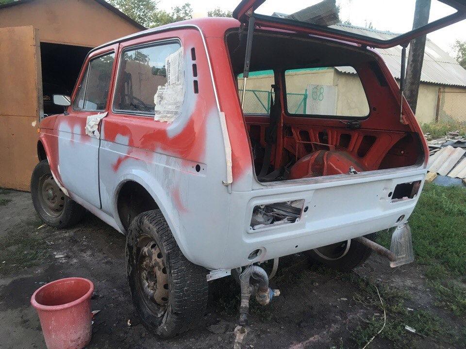Нива 2121 кузовной ремонт