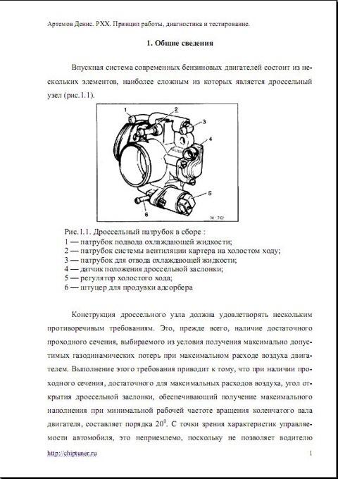 Фото №29 - принцип работы рхх ВАЗ 2110