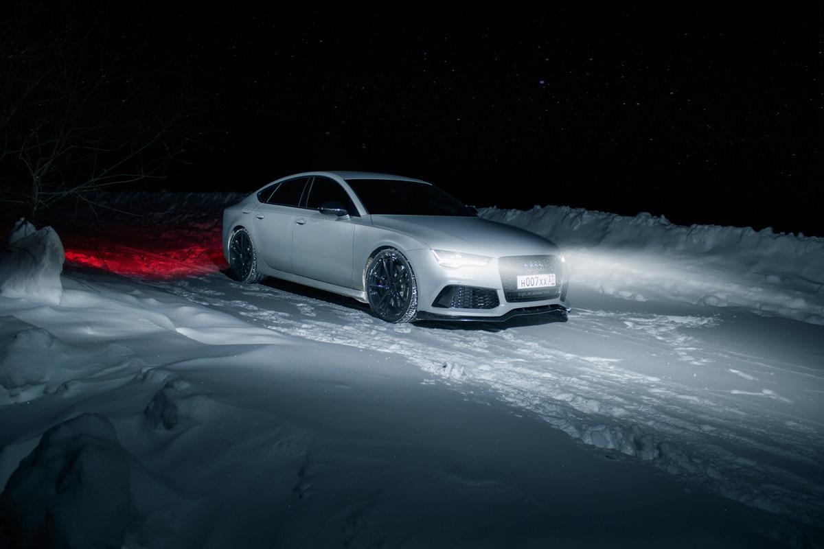 картинки ауди ночью зимой для мальчика
