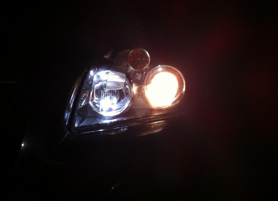 Замена ламп габарита на тойоте ипсум