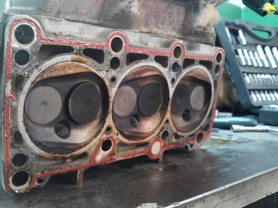 aeb audi двигатель загнуло клапана