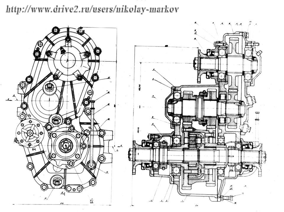 Раздаточная коробка КАЗ-4430