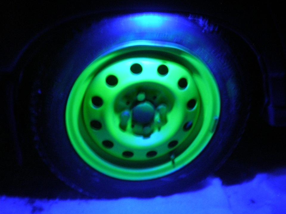 Подсветка для колёс своими руками 105