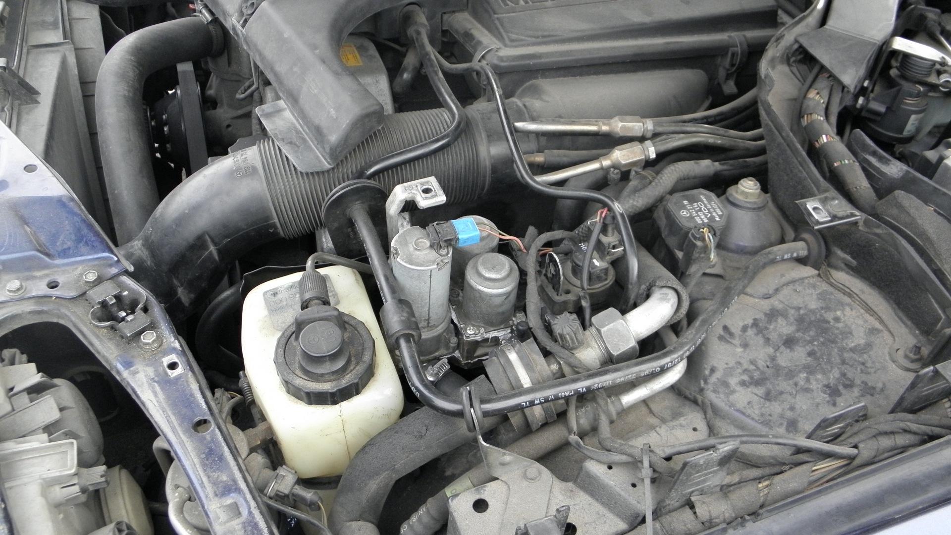 как отремонтировать мотор печки мерседес w140