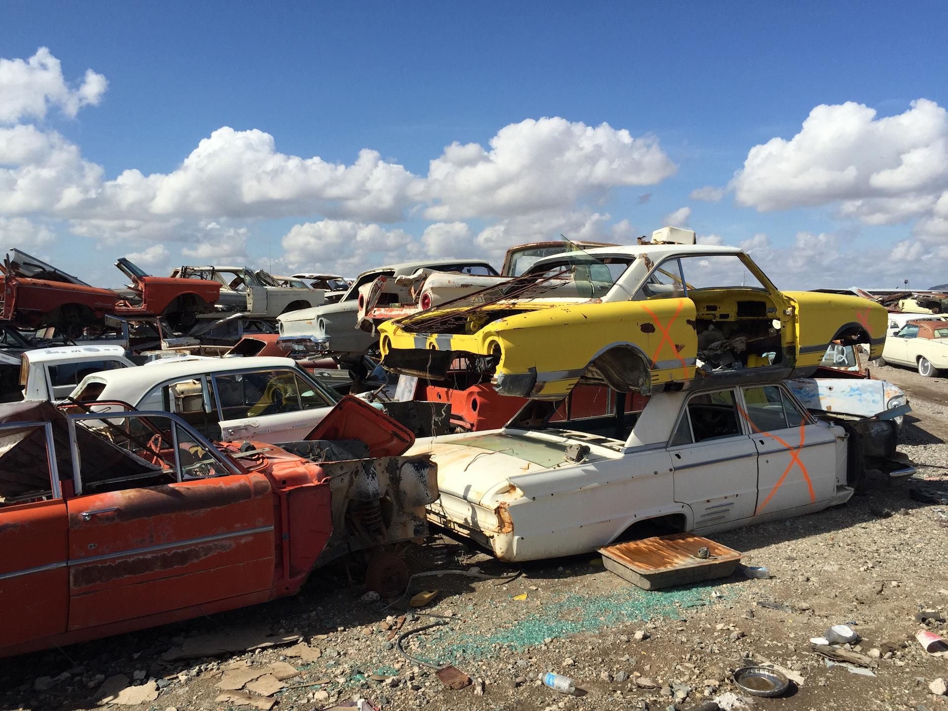 Дневники «Авто-Винтажа»: Desert Valley Auto Parts или свалка